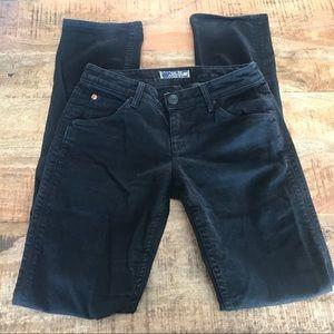 Hudson Jeans Jeans - Hudson black jeans w402dob straight size 27